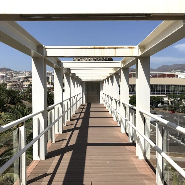 Santa Cruz de Tenerife Palmetum Brücke