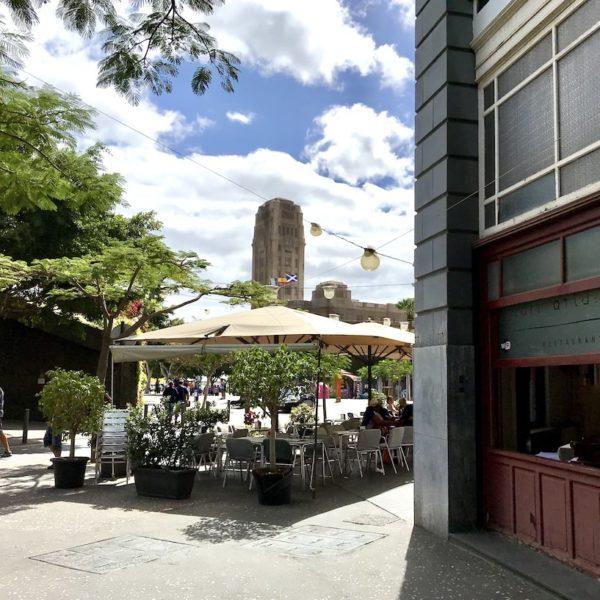 Santa Cruz de Tenerife Platz Café