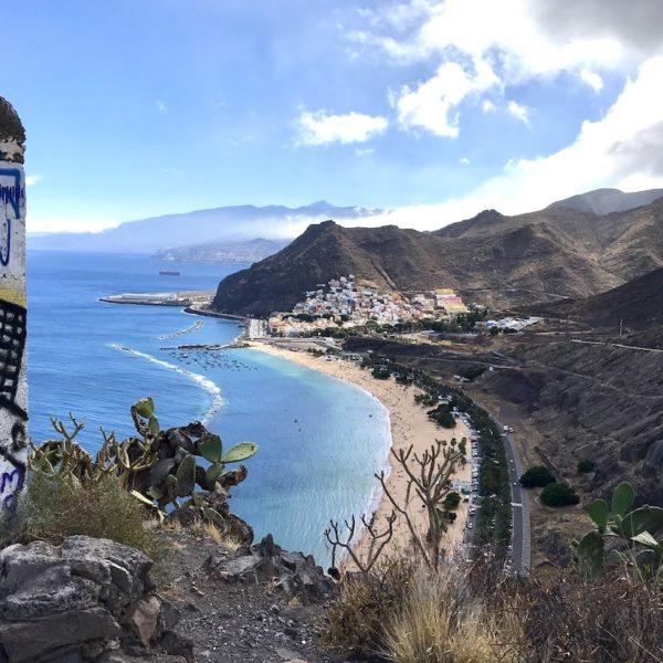 Santa Cruz de Tenerife Playa de las Teresitas Aussichtspunkt