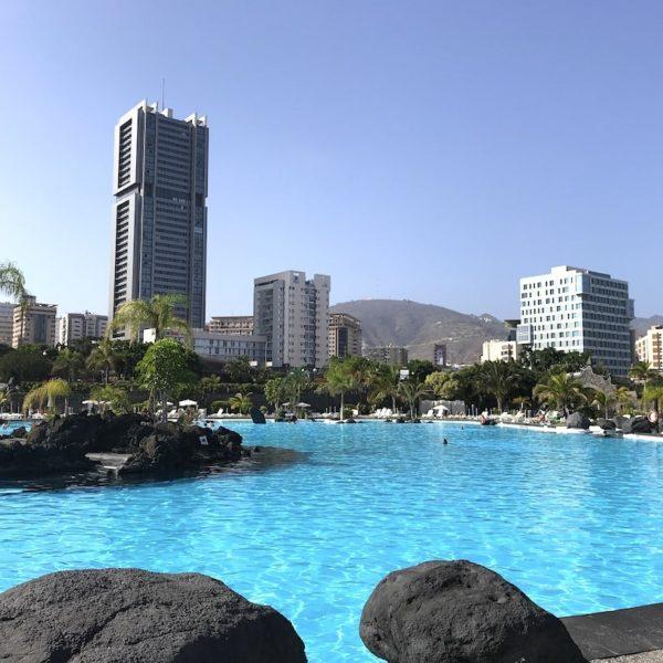 Santa Cruz de Tenerife Schwimmbad
