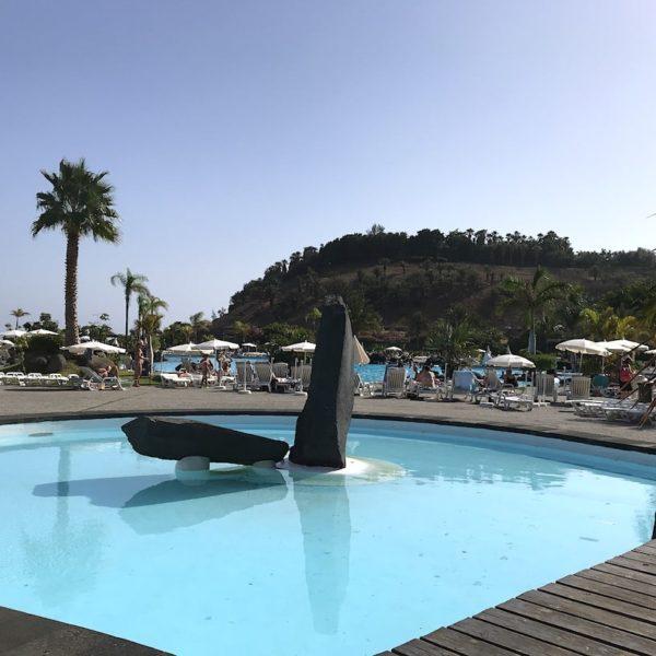 Santa Cruz de Tenerife Schwimmbad Parque Marítimo