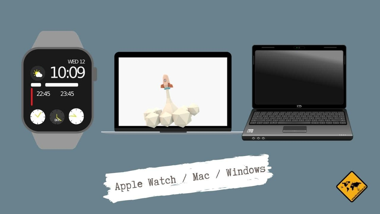 Satellite App Apple Watch nutzen Mac Windows