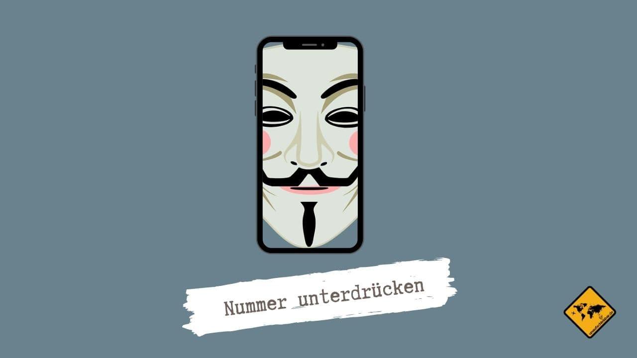 Satellite App Nummer unterdrücken