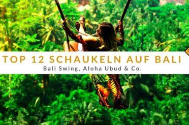 Top 12 Schaukeln auf Bali: Bali Swing, Aloha Ubud & Co.
