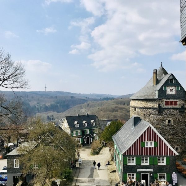 Schloss Burg Solingen Ausblick