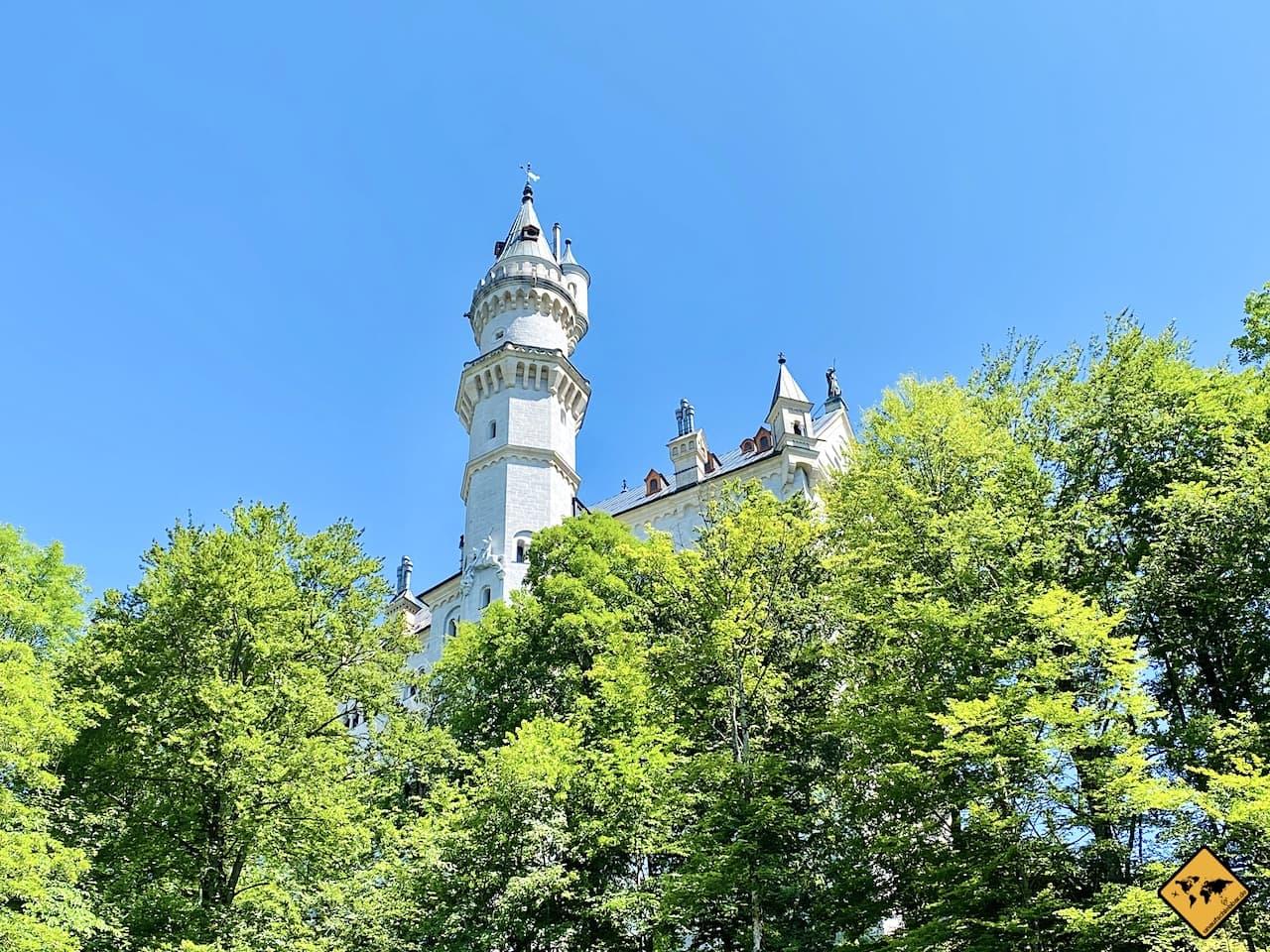 Schloss Turm Höhe