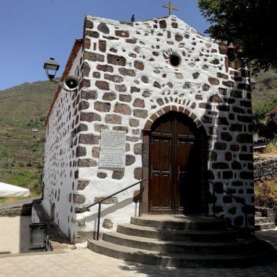 """Die kleine Kapelle """"D. Jose Perez Gonzalez"""" in der Schlucht von Masca"""