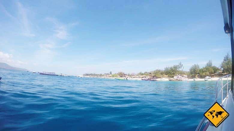 Schnellboot Bali Gili Trawangan
