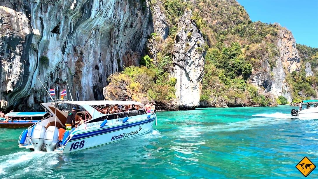 Schnellboot Koh Phi Phi Ausflug