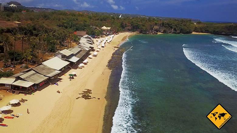 Schönste Strände Bali Balangan Beach