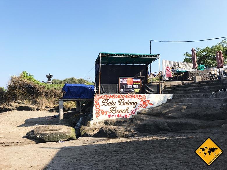 Schönste Strände Bali Batu Bolong Beach Canggu