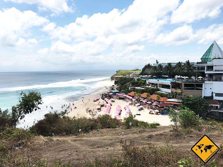 Schönste Strände Bali Dreamland Beach