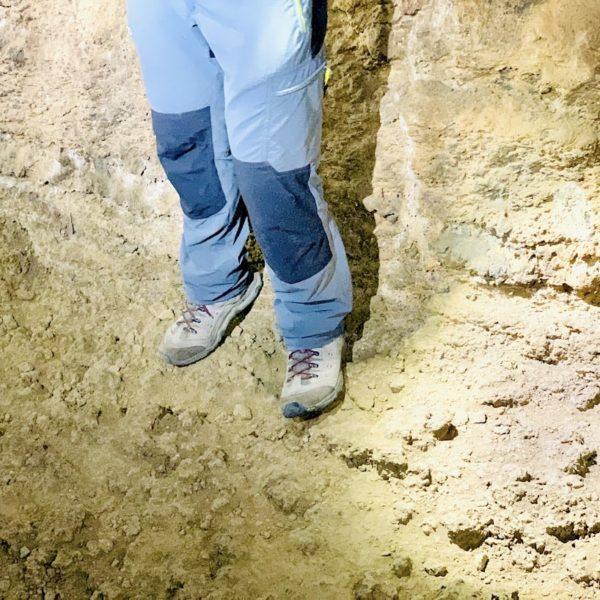 Schuhwerk Hose Cueva del Viento Teneriffa