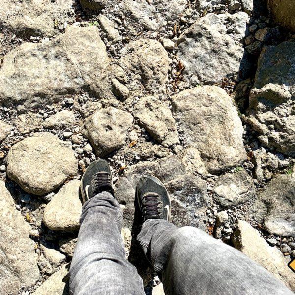 Schuhwerk Wanderung Paklenica Nationalpark Kroatien