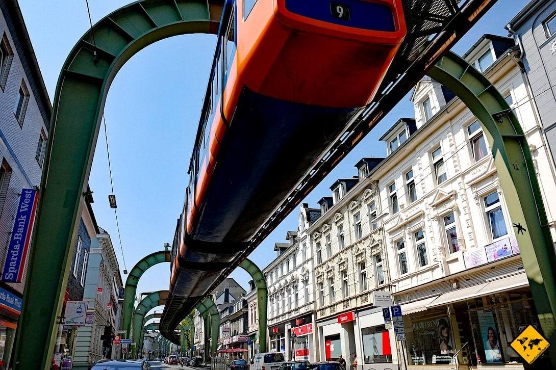 Schwebebahn Wuppertal Stadtverkehr