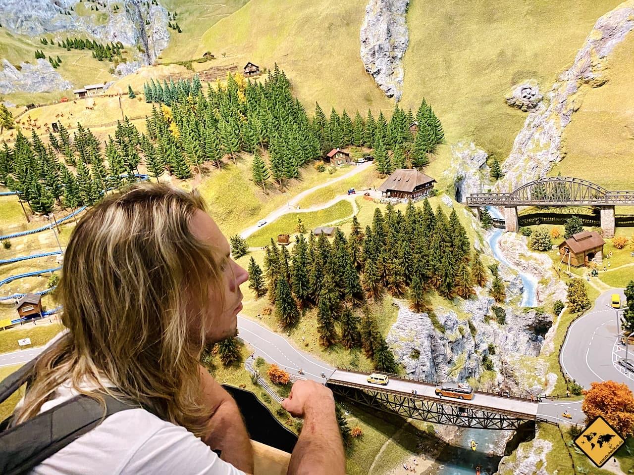 Schweiz Miniaturwelt Besuch