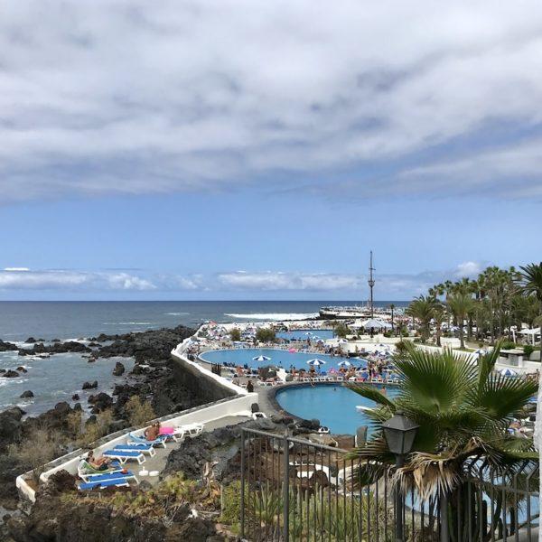 Schwimmbad Puerto de la Cruz Teneriffa