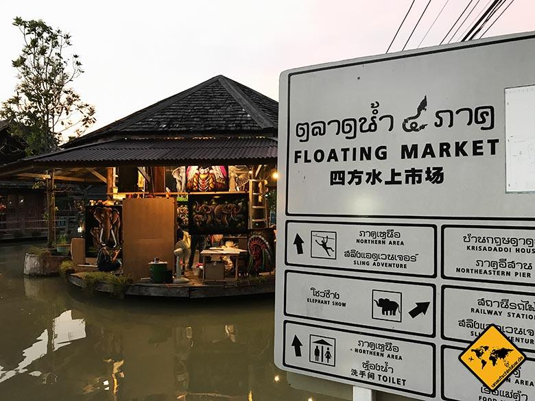 Schwimmender Markt Pattaya