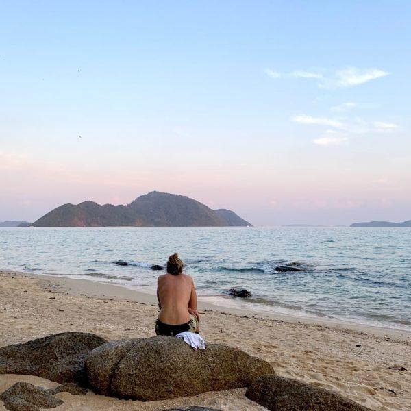 Secret Beach Rawai Meer Strand