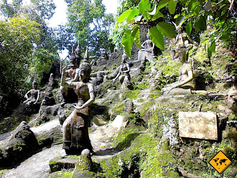 Secret Buddha Garden Koh Samui Steinskulpturen