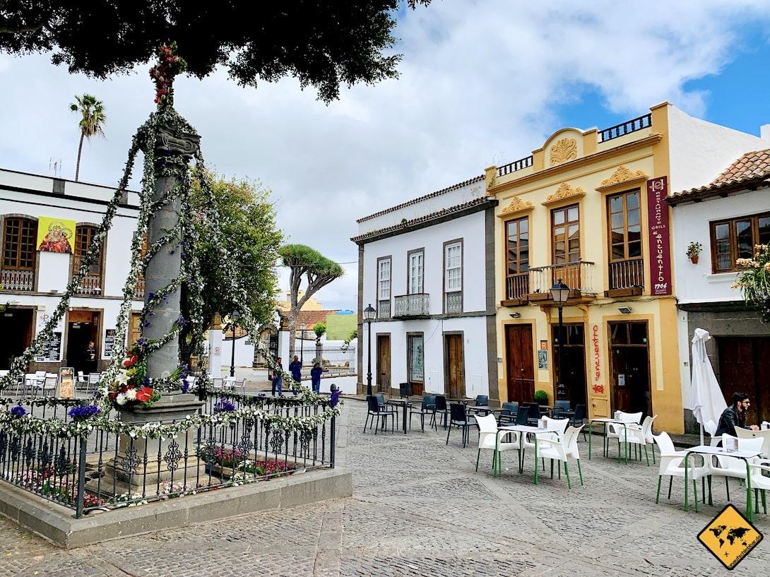 Sehenswertes auf Gran Canaria Teror Altstadt