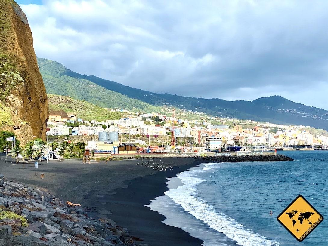 Sehenswertes auf La Palma Playa de Bajamar Santa Cruz