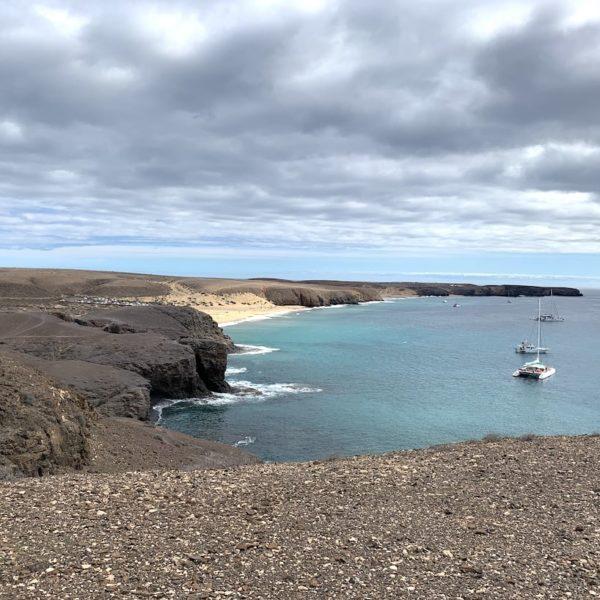 Sehenswertes auf Lanzarote: Playas de Papagayo