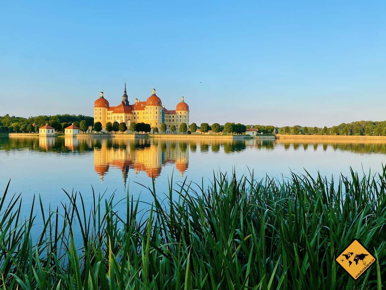 Sehenswürdigkeiten Dresden Umgebung Schloss Moritzburg