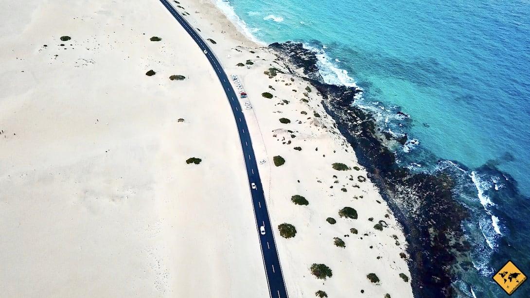 Sehenswürdigkeiten Fuerteventura Corralejo Sanddünen