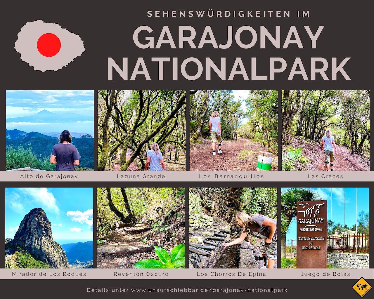 Sehenswürdigkeiten Garajonay Nationalpark La Gomera