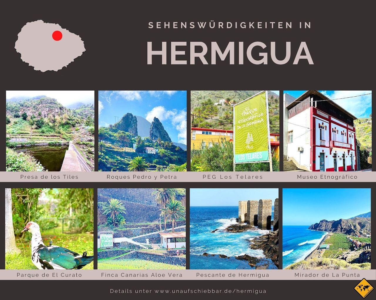 Sehenswürdigkeiten Hermigua La Gomera