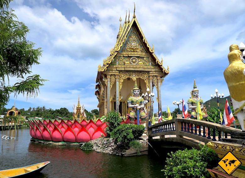 Sehenswürdigkeiten Koh Samui Wat Plai Laem Tempel