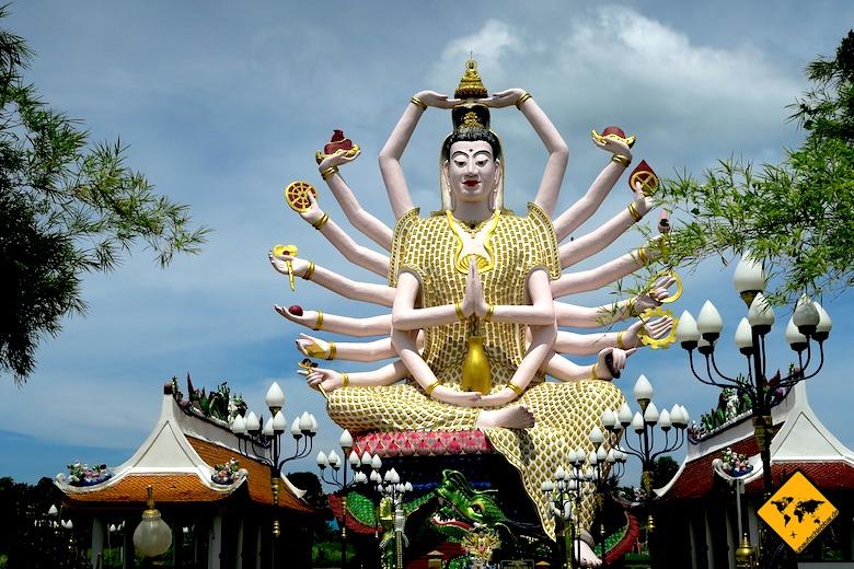 Sehenswürdigkeiten Koh Samui Yao Mae Kuan Im