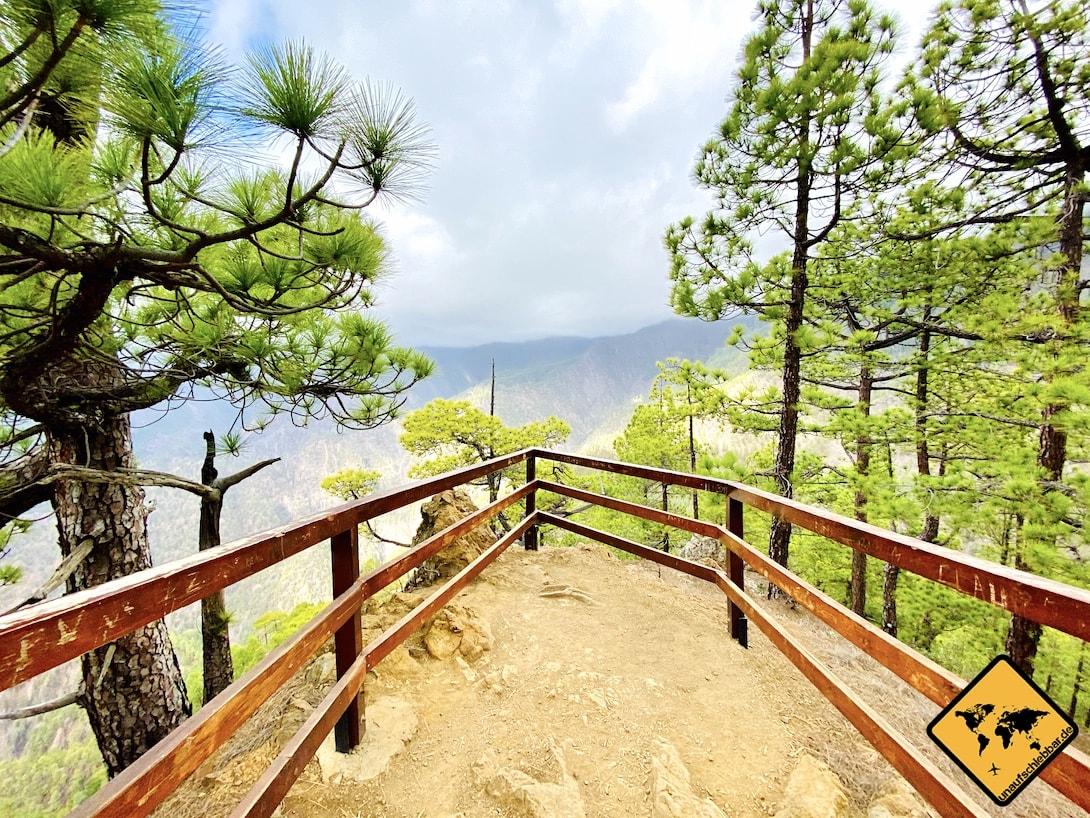 Sehenswürdigkeiten La Palma Mirador Las Chozas