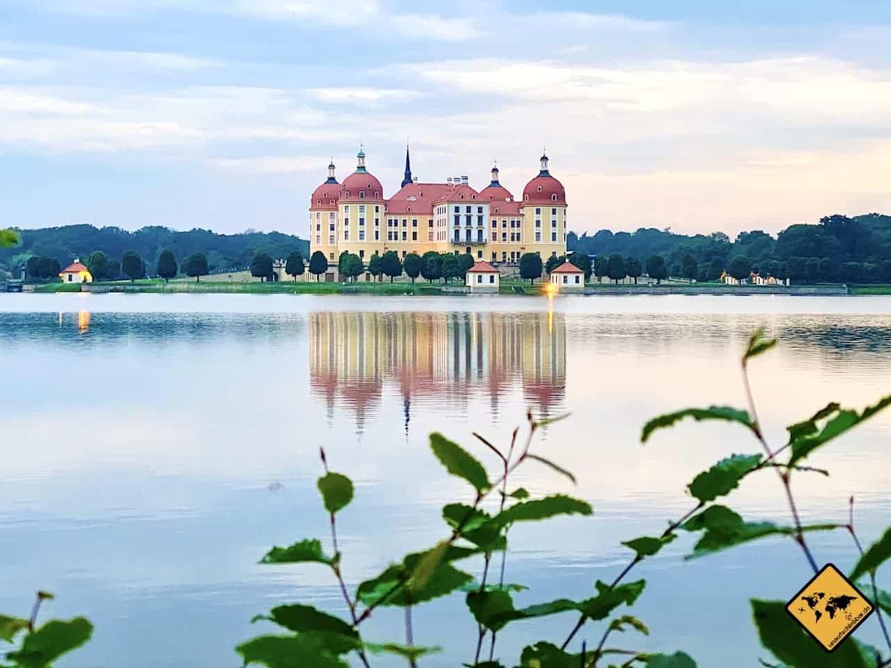 Sehenswürdigkeiten Landkreis Meißen Schloss Moritzburg