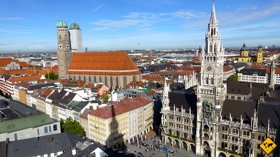 Sehenswürdigkeiten München Rathaus Frauenkirche