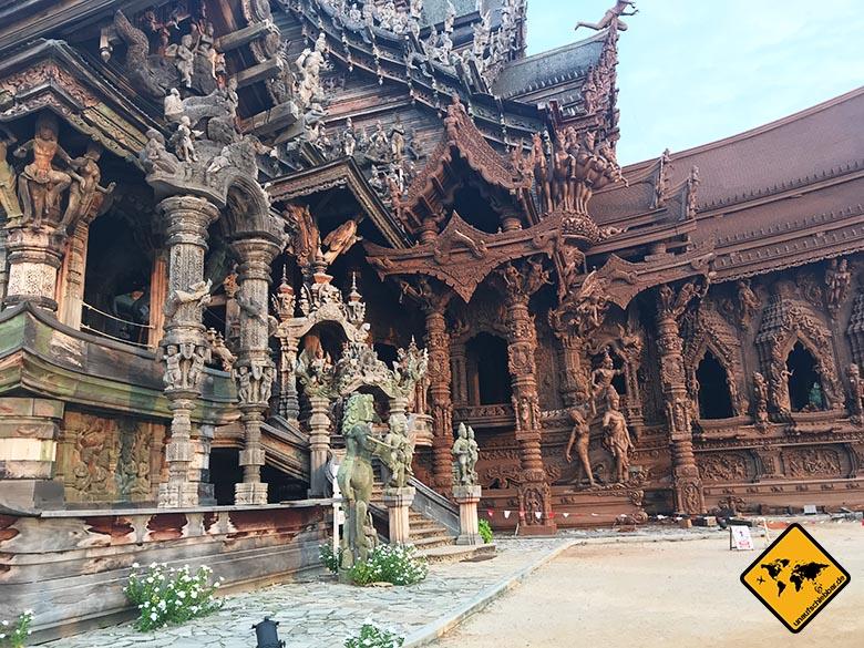 Sehenswürdigkeiten Pattaya Sanctuary of truth