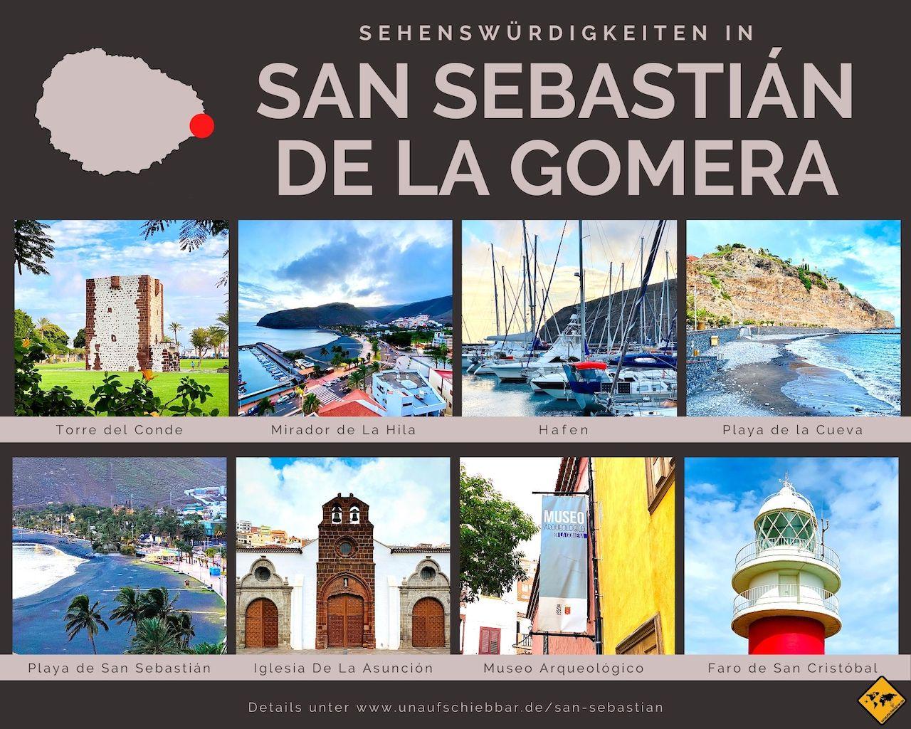 Sehenswürdigkeiten San Sebastián de La Gomera
