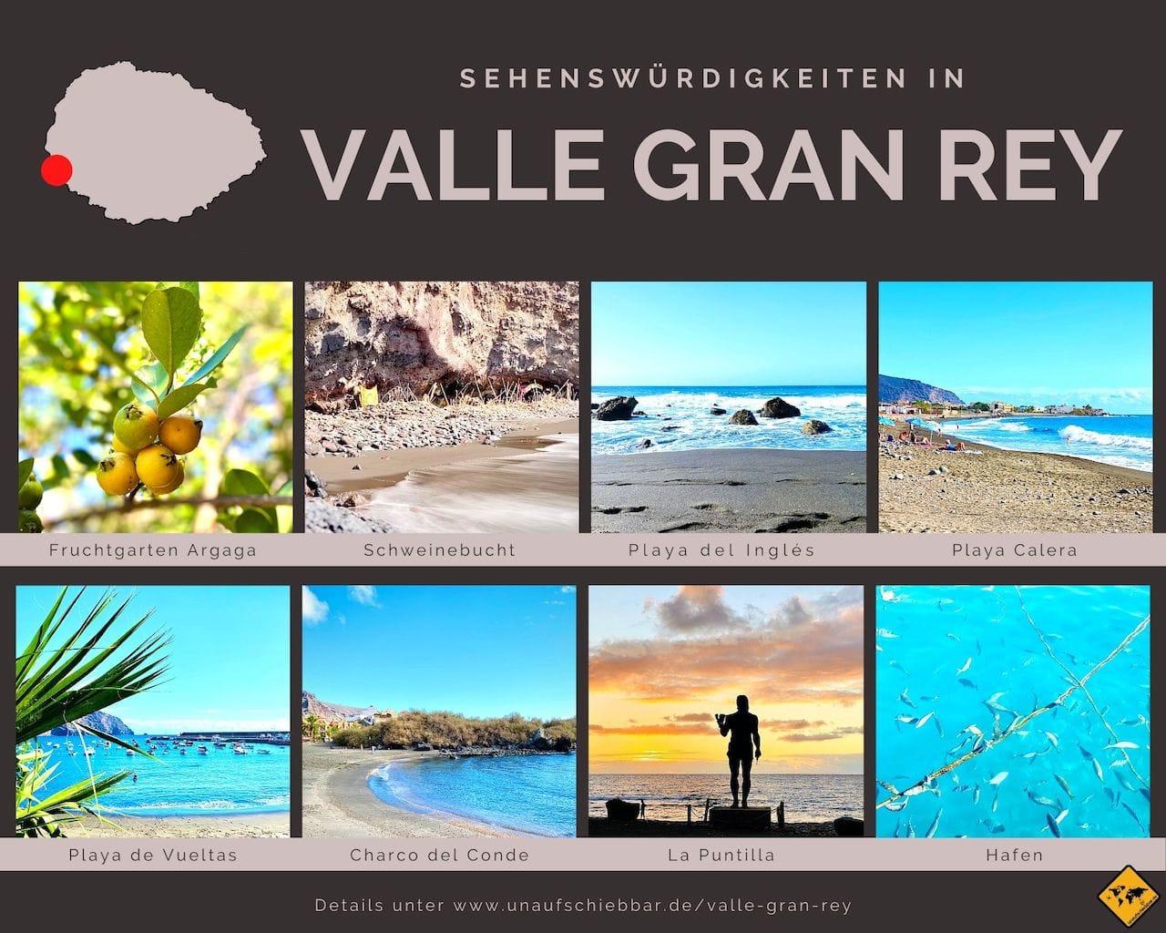 Sehenswürdigkeiten Valle Gran Rey La Gomera