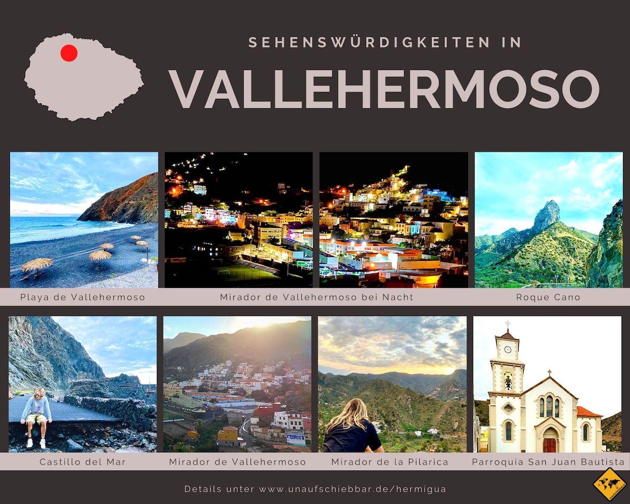 Sehenswürdigkeiten Vallehermoso La Gomera