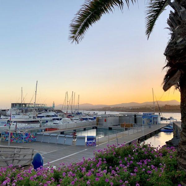 Sehenswürdigkeiten auf Fuerteventura Caleta de Fuste Hafen