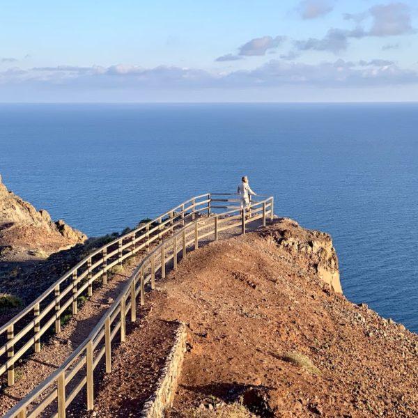 Sehenswürdigkeiten auf Fuerteventura Faro de la Entallada Aussichtsplattform