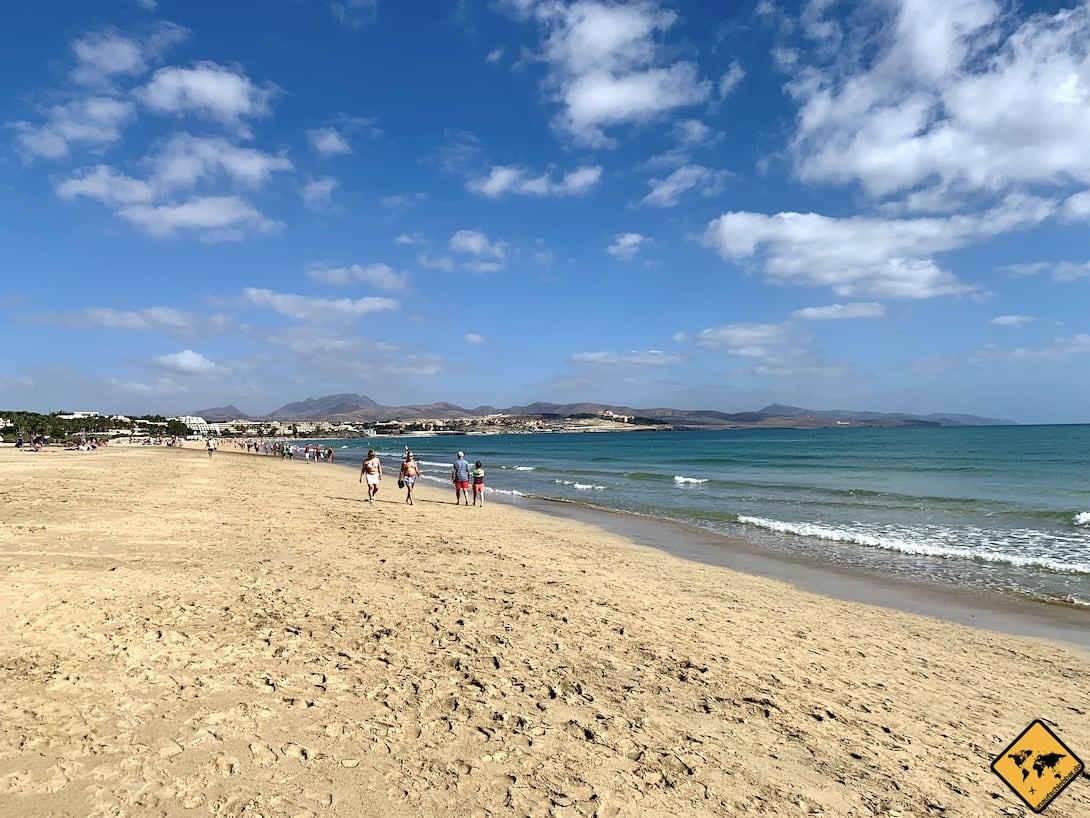 Sehenswürdigkeiten auf Fuerteventura Strand Costa Calma