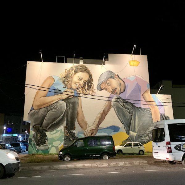 Sehenswürdigkeiten auf Fuerteventura Streetart Puerto del Rosario
