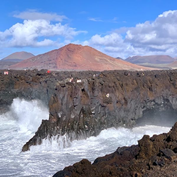Sehenswürdigkeiten auf Lanzarote: Los Hervideros