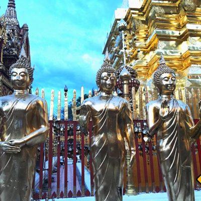 Sehenswürdigkeiten in Chiang Mai Wat Phra That Doi Suthep