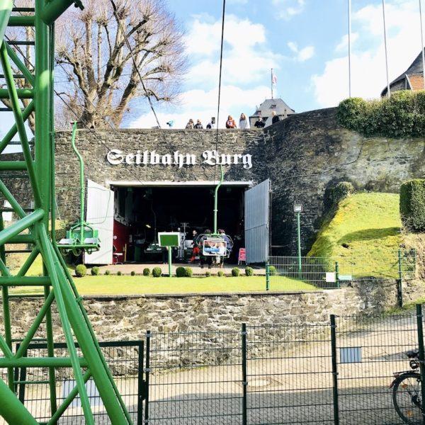 Seilbahn Schloss Burg Solingen