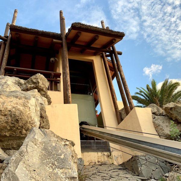 Seilbahnstation Playa Abama Teneriffa