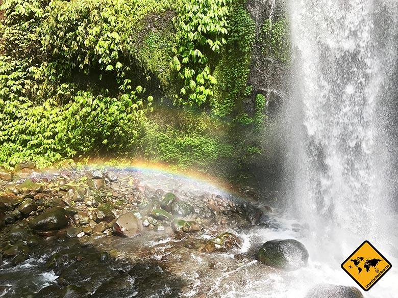 Sendang Gile Wasserfall Lombok
