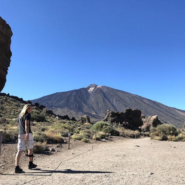 Sendero 3 Mirador Llano de Ucanca Teide Nationalpark